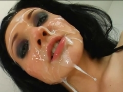MIX FACUAL CUMSHOTS BUKKAKE  HD I