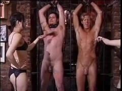 pretty asian doms tormenting slaves