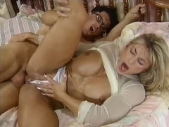 Golden-Haired Bodybuild large clitoris is screwed