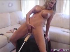Hot Webcam Girlfriend Fucks Her Fuck Machine