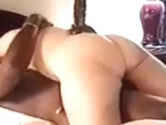 White wife grinding and creaming on BBC