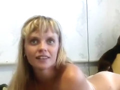 IrinaAndrei: blonde fucked in the ass and mouth