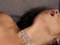 Crazy pornstar Scarlet Lavey in incredible blowjob, hardcore sex scene