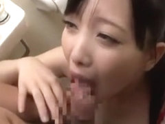 Horny Japanese slut Tomoka Kuriyama, Mao Mizusawa, Maomi Nagasawa in Incredible Blowjob/Fera, Cens.