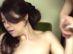 Hottest Japanese slut Manami Watanuki in Fabulous couple, big tits JAV video