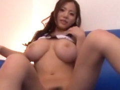 Horny Japanese girl Ruri Saijou in Incredible Big Tits, POV JAV movie