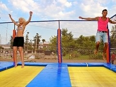 Wild vacation sex in Turkey: Day 6 - Swinging sex with best friends, part 3