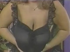 Goddess milf gets cum on her tits