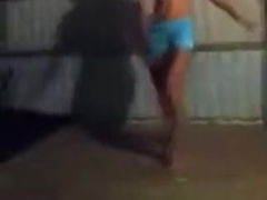 kennedy and amber twerking....