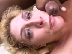 Blondes do it better (swallow compilation) the end
