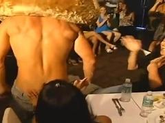 Raunchy fun with stripper