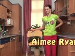 ###ing in her kitchen