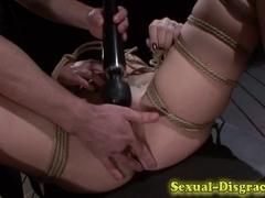 Bound ### slut throat fucked