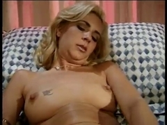 Hawt Golden-Haired Mother I'd Like To Fuck Masturbating With Dildos