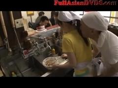 Sushi Bar Japanese Public Sex(2)