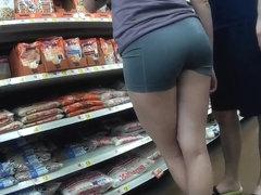 Long legs spandex shorts