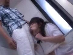 Horny Japanese girl Ai Wakana, Yui Kasugano, Hirono Imai in Fabulous Handjobs, Public JAV movie