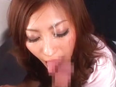 Fabulous Japanese slut Yuki Asada in Best Facial, Stockings/Pansuto JAV scene