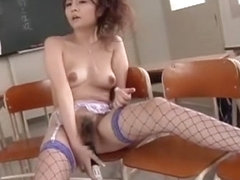 Horny Japanese slut Karen Miyajima in Best DP/Futa-ana, Dildos/Toys JAV movie