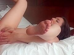 Nikki Lavay - Outdoor Shower Striptease