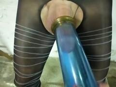 pantyhose pump - femdom