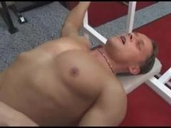 Hardcore butt-fucking in gay big dick porn video