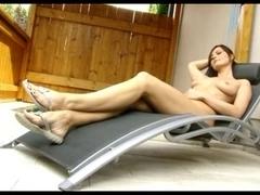 sexy lesbo toe engulfing foot worship