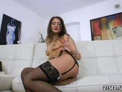 Anal Training of Savannah Secret