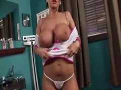 LARGE BREASTED NURSE two