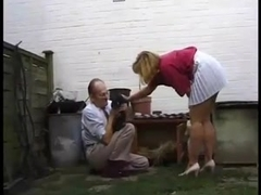 British Milf Fucked in the Kitchen