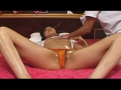 Fleshly Oiled Japanese Massage Pt. 1of2