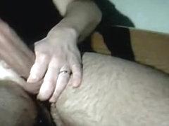 Sucking husbands corpulent jock