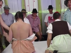 wild german fuck party orgy