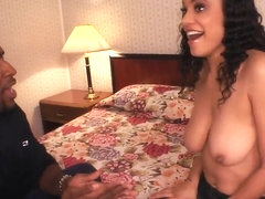 Shyla Haze and her black boyfriend have oral sex