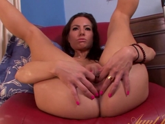 Crazy pornstar Portia Harlow in Fabulous Brunette, Masturbation porn movie