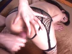Crazy Japanese chick Hitomi Tanaka, Anri Okita in Incredible big tits, lingerie JAV video