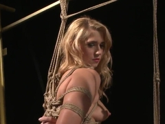 Linda Ray being punished for being too naughty and bad lately