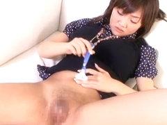 Fabulous Japanese chick Haruka Sanada, Akari Satsuki, Erika Kirihara in Best Shaved/Paipan JAV clip