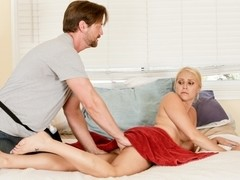 Vanessa Cage & Eric Masterson in Horsin' Around Video