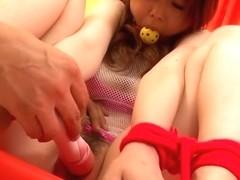 Hottest Japanese girl Miku Airi in Fabulous JAV uncensored Dildos/Toys scene