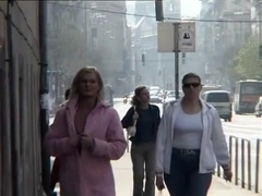 Fabulous flashing video with public scenes 2