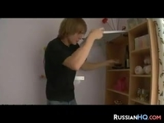 ### Russian Teens In A Threesome