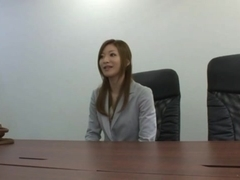 Karen Fujiki hot Japanese office lady