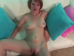 Crazy pornstar Faith Daniels in exotic pov, redhead sex clip