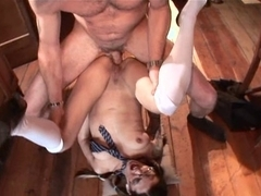 Excited Holly's Anal Pleasure!