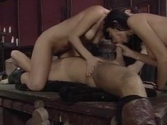Vintage German porn with group fucking