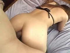 Japanese Teen gets DP-ed and Anal Creampie