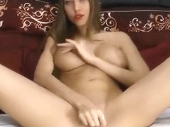 Pretty woman with big tits BustyAnabelle