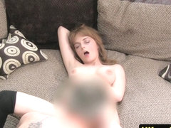 rodsucking amateur orally pleasured by agent