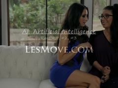 Lesbian AI Celeste Star, Serena Blair, Alix Lynx
